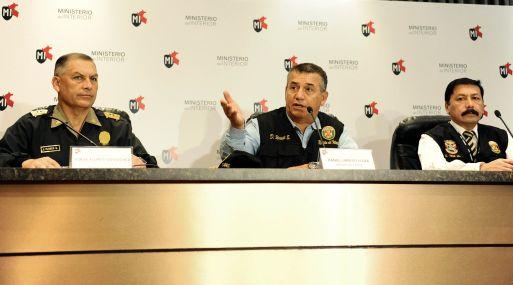 Per ha expulsado a 200 extranjeros ilegales en las for Ultimas declaraciones del ministro del interior