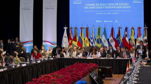 Un Mercosur renovado serviría de guía. En los papeles, el bloque comercial es un gigante.