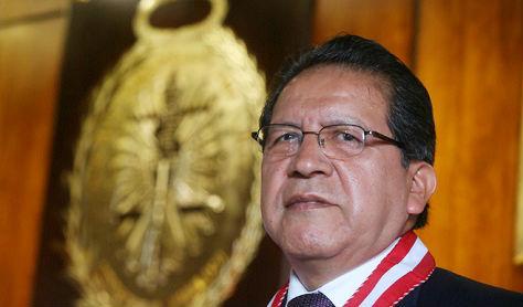 Fiscal de la Nación Pablo Sánchez.