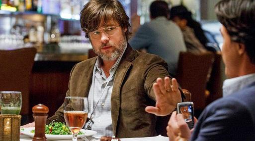 Brad Pitt en una de las escenas del filme nominado La Gran Apuesta.