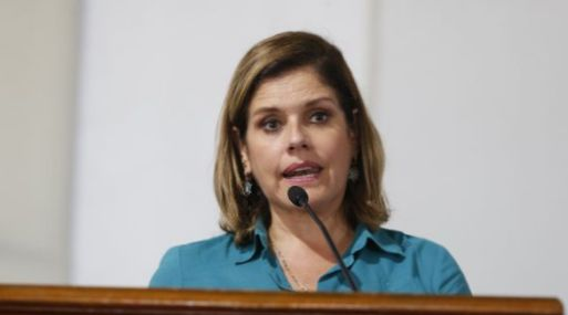 Mercedes Aráoz lidera las comisiones de transferencia. (Foto: USI)