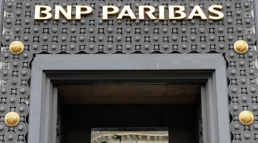 Fachada de la sede principal de BNP Paribas en París. (Foto: AFP)