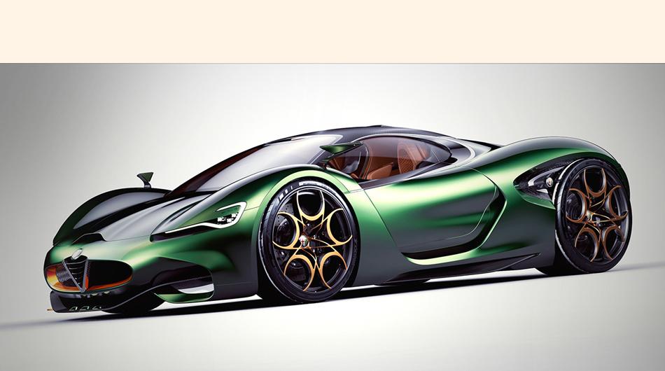 conoce los detalles del Alfa Romeo Furia Concept