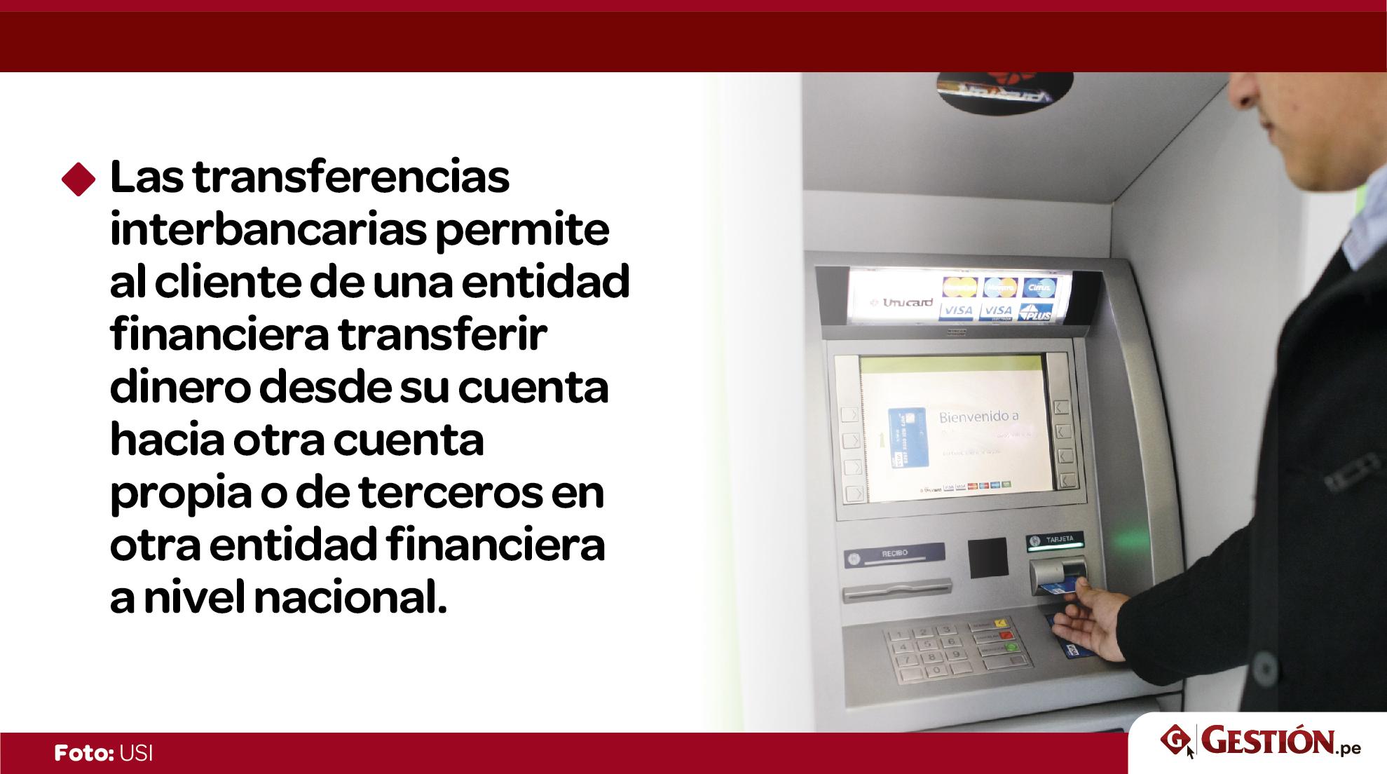 transferencias interbancarias, CCE, dinero