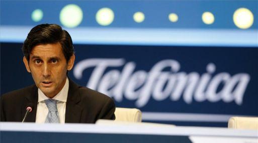 José María Álvarez – Pallete, presidente de Telefónica. (Foto: Reuters)