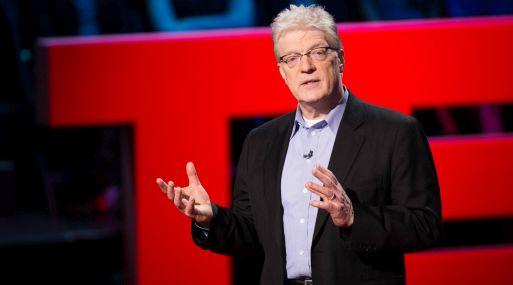Ken Robinson ha ofrecido la charla TED más vista, con 41 millones de visitas.