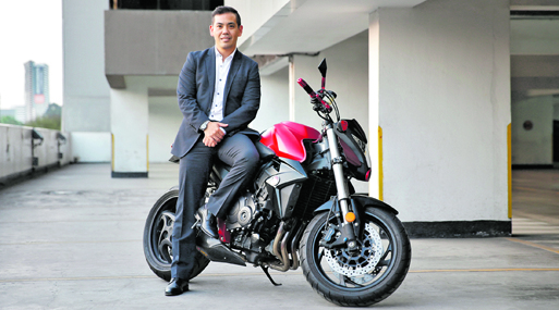 Jorge Oshiro trabaja en Honda desde el 2002 y se ha desempeñado en más de cinco áreas.
