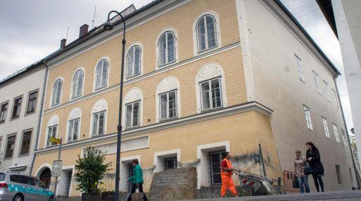 Casa donde nació Adolfo Hitler. (Foto: AFP)