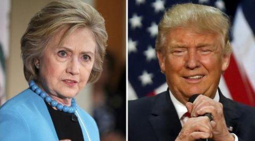 Hillary Clinton y Donald Trump. (Foto: Reuters)