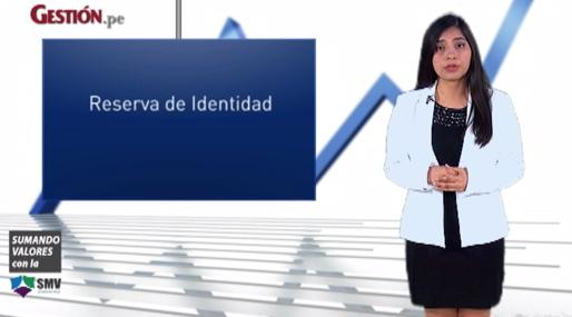 ¿Qué es la reserva de identidad en el mercado de valores?