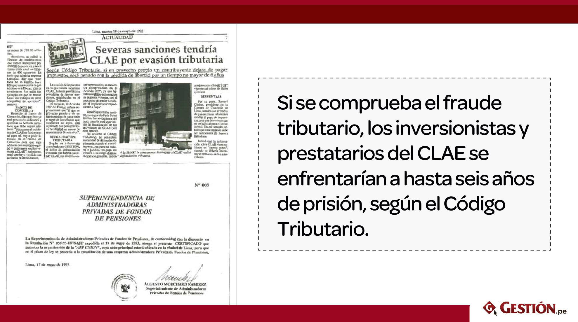 Perú, estafa, CLAE, Década de los 90