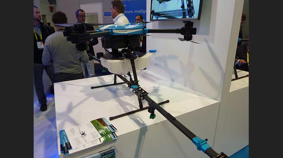 EE.UU., tecnología, drones, Las Vegas, CES 2017