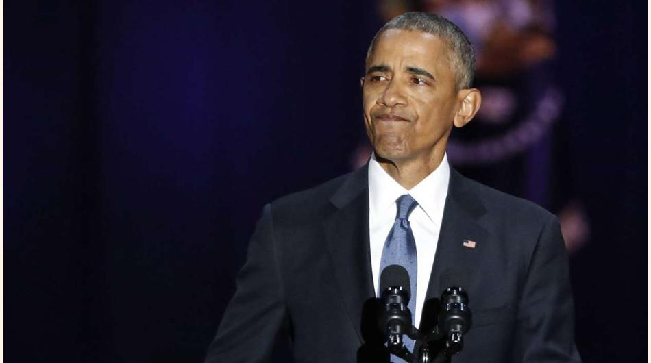 El adiós de Obama