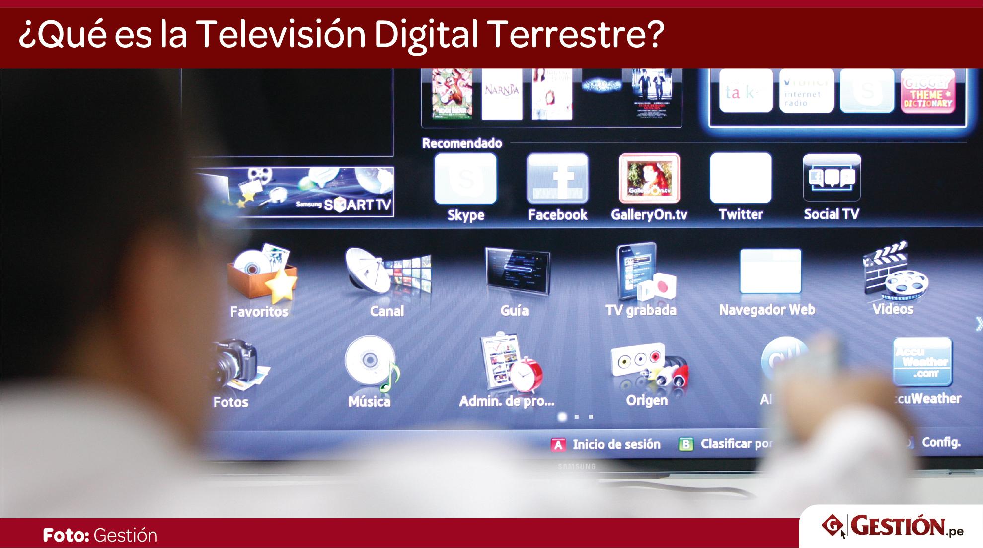 Televisión Digital Terrestre, TDT, canales