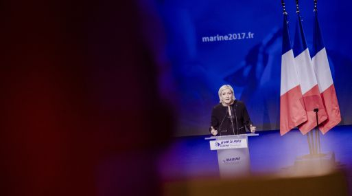 Marine Le Pen. (Foto: Bloomberg)