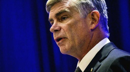 Patrick Harker, presidente de la Fed de Filadelfia. (Foto: Getty).