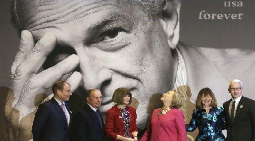 Ceremonia en honor de Óscar de la Renta, el famoso diseñador fallecido en el 2014 (foto: AP).