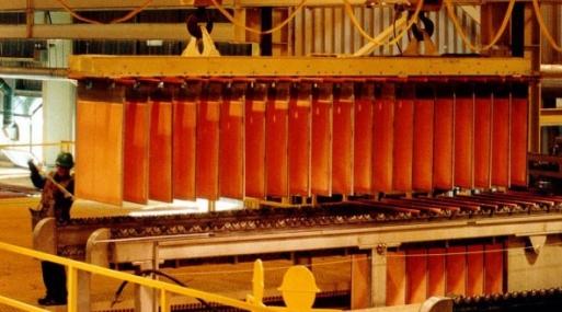 A las 1103 GMT, el cobre a tres meses en la Bolsa de Metales de Londres (LME) caía un 1.09% a US$ 5,935.5 la tonelada.
