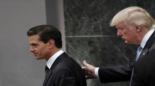 Asegura Trump que se construirá el muro