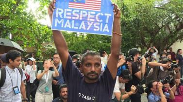 Tensión por asesinato de Kim Jong Nam llega a las calles de Malasia
