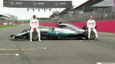 Fórmula 1: Mercedes muestra su auto para la temporada 2017