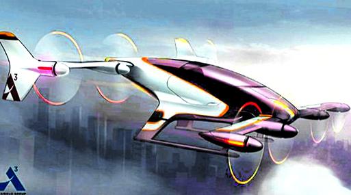 Airbus diseña el concepto para dos dispositivos: uno para transporte autónomo, otro manejado por conductores para llevar varios ocupantes.