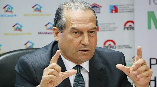 Alejandro Niezen, presidente del Fondo Mivivienda (foto: Andina).