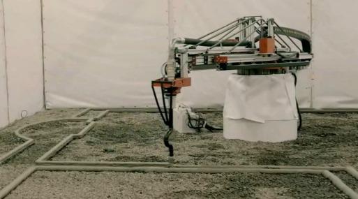 La impresora 3d capaz de construir una casa en un d a for Construir impresora 3d