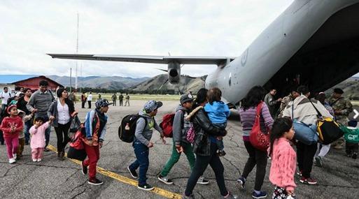 Fuerza Aérea colombiana apoyará labores humanitarias en Perú