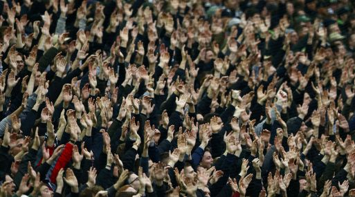 Aficionados de la Bundesliga. (Foto: Reuters)