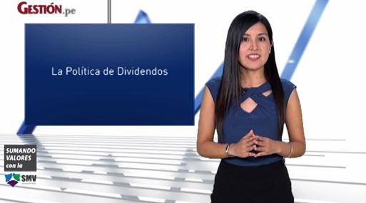 Política de dividendos en el mercado de valores peruano