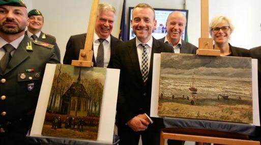 Dos cuadros de Van Gogh 'vuelven a casa' después de 14 años