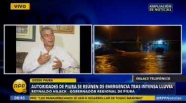 Autoridades de Piura evalúan evacuar hasta 10,000 personas por alza en caudal del río