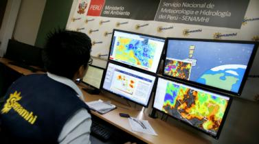 Senamhi prevé fuertes lluvias este jueves en el norte del Perú