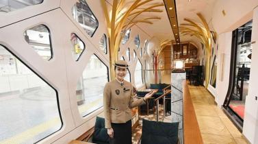 Japón: presentan súper tren con diseñador de Ferrari