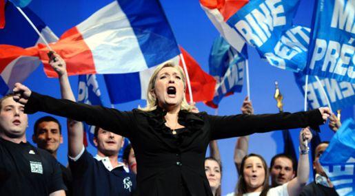 Intentan prender fuego a la sede de campaña de Marine Le Pen