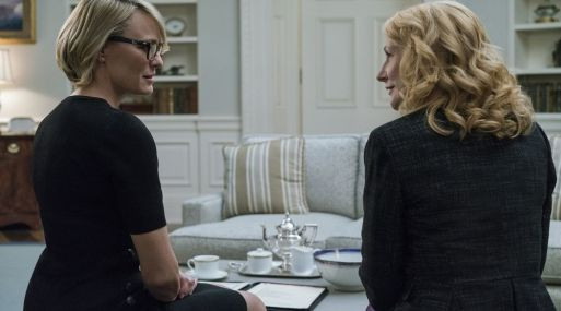 Escena de la serie 'House of Cards'. (Foto: Netflix)