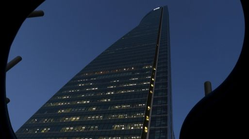 Edificio Espacio en Madrid, sede de OHL. (Foto: Reuters)
