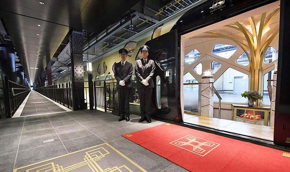 Japón, lujo, tren, Shiki-Shima