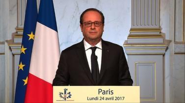 Francia: Hollande votará por Macron y advierte que Le Pen sería un 'riesgo' para el país