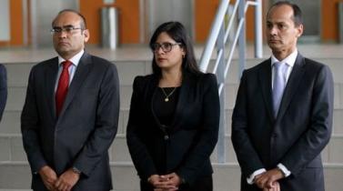 Patricia Figueroa renuncia al Viceministerio de Recursos para la Defensa del Mindef