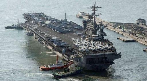 Trump no excluye una acción militar contra Corea del Norte