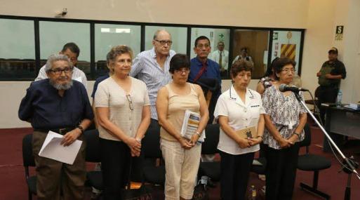 Abimael Guzmán y su cúpula fueron expulsados de audiencia — Caso Tarata