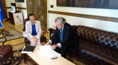 Venezuela inicia oficialmente su retiro de la OEA