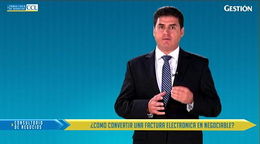 Cómo convertir una factura electrónica en negociable