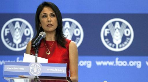 Nadine Heredia renunció a su cargo de directora en la FAO