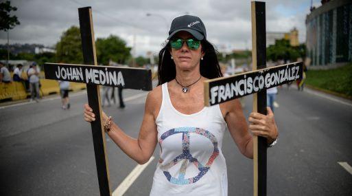 Aumenta el número de muertes en nueva jornada de protestas — Venezuela
