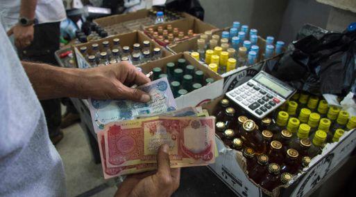 El litro de alcohol costaba hasta 100 dólares (90 euros) durante la ocupación del EI. (Foto: AFP)