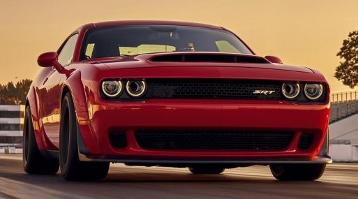 2018 Dodge Challenger SRT Demon. Foto: FCA US LLC