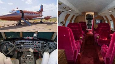 Vea el último avión privado de Elvis Presley que se subasta en más de US$ 350,000